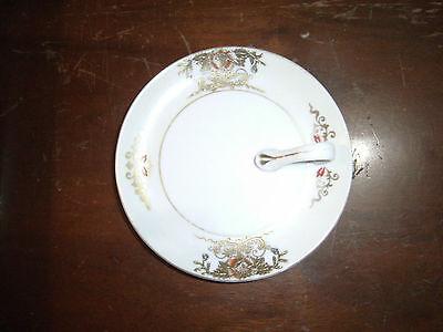Vintage Noritake 'M' MORIMURA LEMON DISH PLATE, Handpainted Porcelain