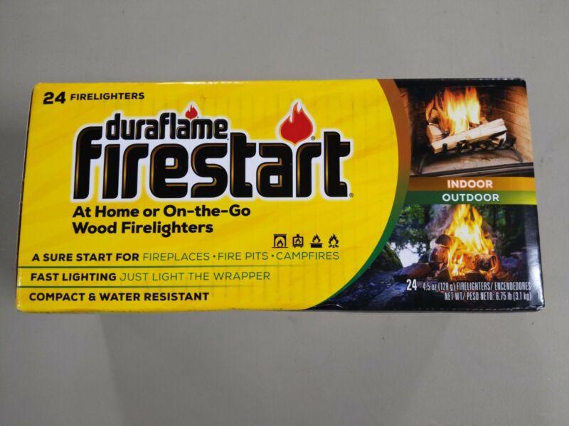 Duraflame Firestart Indoor/Outdoor Firelighters, 24 Pack