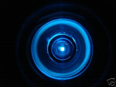 Blue Drop In Welding Lens--one Lens- 2 X 4.25--please Read Description