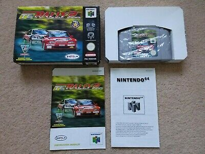 TG Rally 2 (Top Gear Rally 2) - Nintendo 64 N64, complete