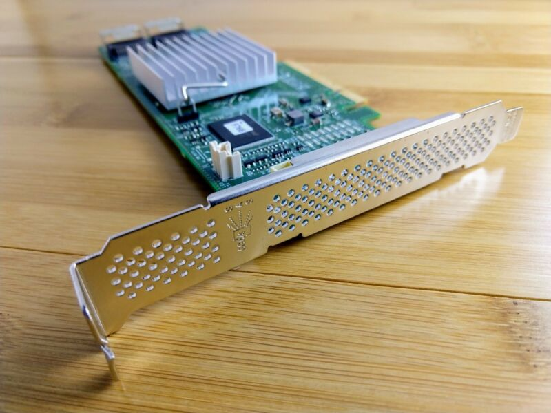 Dell H310 6Gbps SAS HBA w/ LSI 9211-8i P20 IT Mode for ZFS FreeNAS