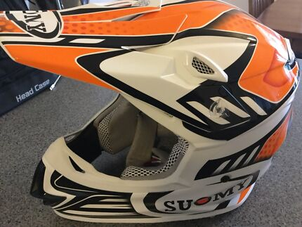 Wanted: Suomy Carbon composite motocross helmet