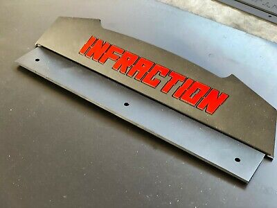 Arrma Infraction Rear Wing Spoiler BLACK, used for sale  Shipping to India