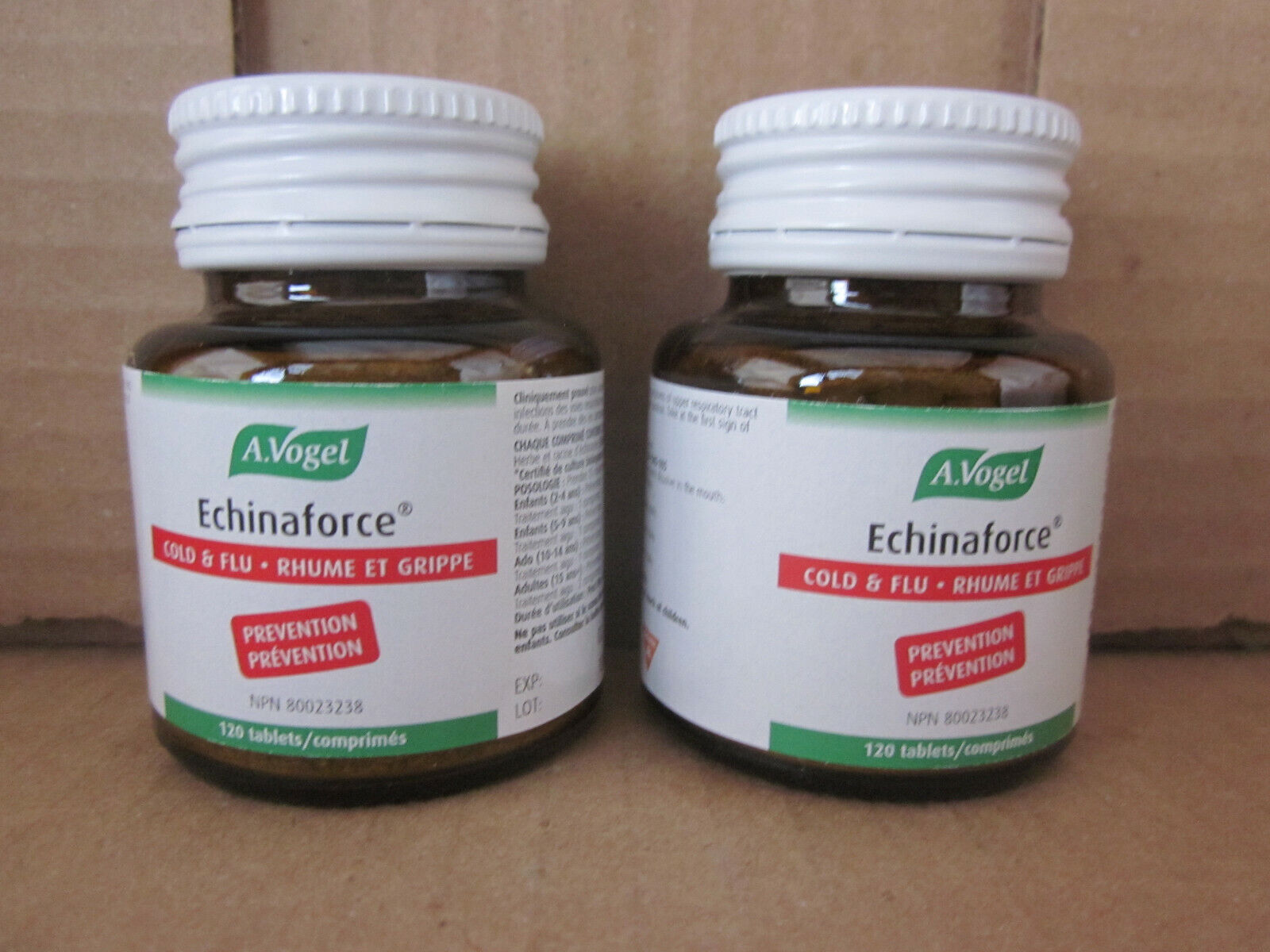 (2) A Vogel Echinaforce Herbal Immune Health 120 Tablets Exp 2022