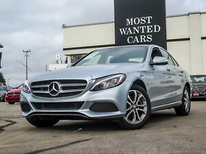 2015 Mercedes-Benz C300 4MATIC | NAVIGATION | BLIND | DUAL ROOF
