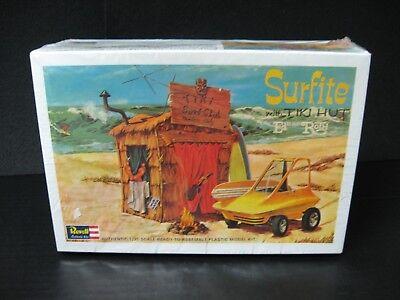1993 nos Surfite With Tiki Hut Revell authentic model Kit H-1240:200** SEALED (Tiki Hut Kits)