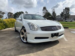 2003 Nissan Skyline CPV35 G35 Infiniti 350GT Manual Coupe Thomastown Whittlesea Area Preview
