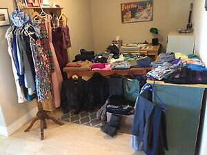 Spring cleaning clothing sale