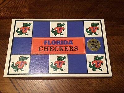 Vintage Florida Gators vs Florida State Seminoles Checkers Game UF vs FSU 1994 - Florida Vs Fsu