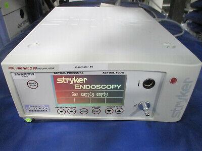 Stryker Endoscopy 40 L Core Insufflator W Low Flow Mode 620-040-503