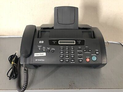 Hp 1040 Inkjet Fax Machine With Built-in Telephone Scan Print