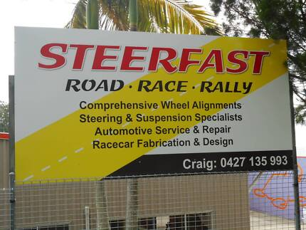 Steerfast steering and suspension