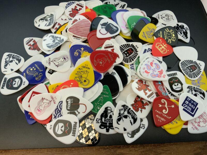 Pickboy Guitar Picks Pack Of 20  Rare Collectable Grab Bag
