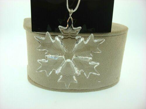 Swarovski 2018 Little Snowflake Ornament