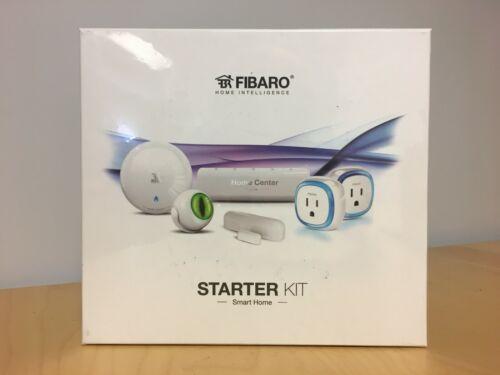 FIBARO STARTER KIT with Motion Sensor, Wall Plug, Flood Sensor, and more!