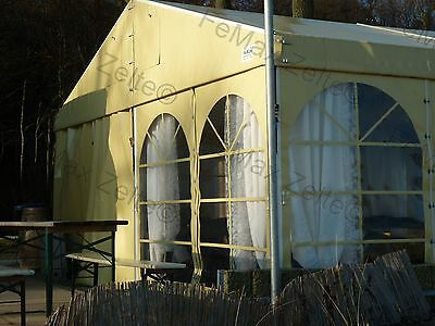 5m x 6m Festzelt Partyzelt Bewirtungszelt Eventzelt / Inkl. 3 Sprossenfenster