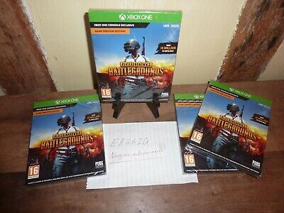 PlayerUnknown's BattleGround Game Preview Edition Xbox One New Sealed