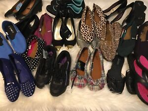 18 pairs of women's size 5 shoes for $20
