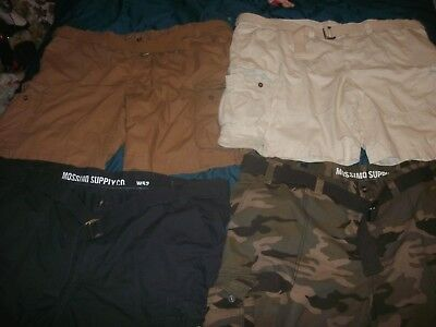Men's Big & Tall Mossimo CARGO Shorts sizes 42,46,48,50,52,54,56,58 or 60