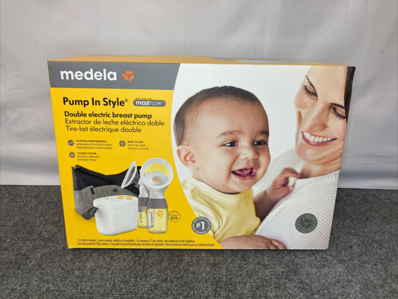 Medela Pump In Style MaxFlow Double Electric Breast Milk Pump NEW Never Opened