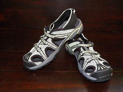 New Womens AHNU Tilden III Foam Green Mesh Waterproof River Trail Sport Sandals ()
