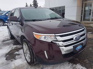 2011 Ford Edge Limited Brown Leather, Collision Alert, Comman...