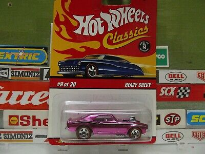 HOT WHEELS CLASSICS SERIES 3 PINK HEAVY CHEVY 9/30, L0737. (15)