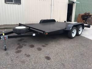 14x6.6 Tandem Car Trailer - Beaver Tail Auburn Auburn Area Preview
