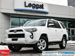 2015 Toyota 4Runner SR5- 4WD, ALLOYS, BLUETOOTH, HITCH