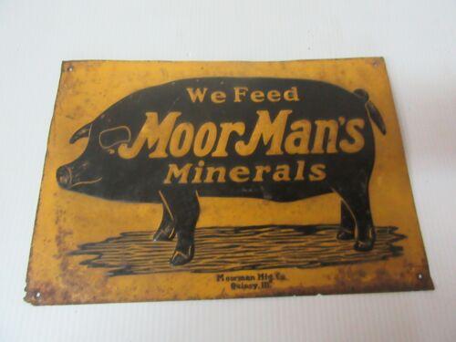 Vintage We Feed MoorMan