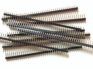 5x Stiftleiste | 40 Pins | RM 2,54 | 5 Stück