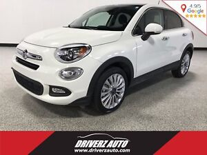 2016 Fiat 500X Lounge CLEAN CARPROOF, FRONT WHEEL DRIVE, LEATHER