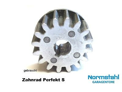 Normstahl  Torantrieb Perfekt S Zahnrad Ritzel für Motor 24V  Garagentorantrieb