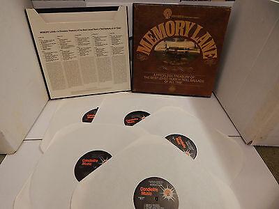 MEMORY LANE Best Loved Rock N Roll Ballads of all time 5 LP Various Doo-Wop