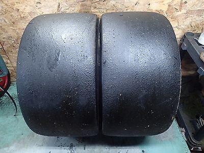 2 325 705 18 Pirelli Pzero Dhc Race Slick Tires 3 4 32 No Repairs 325 710 18