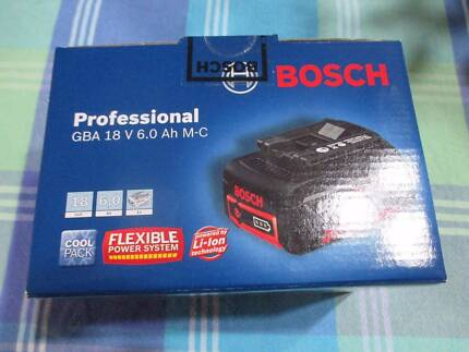 NEW IN BOX - Bosch GBA 18V 6.0Ah M-C Li-ion Cordless Battery