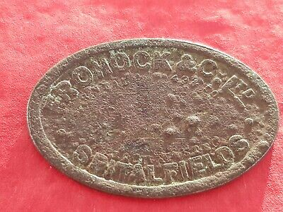 Very old unresearched London 17/18? hundreds token Please read description L156g
