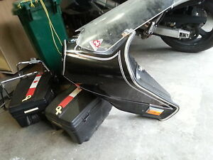 bmw front fairing and sadle bags