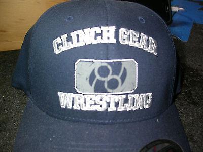 CLINCH GEAR WRESTLING BASEBALL CAP HAT FLEXIFIT MMA BJJ MUAY THAI UFC BOXING NEW