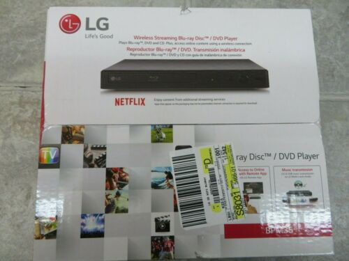 LG Electronics BPM35 Blu-ray Disc Player with Streaming Services