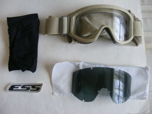 ESS Land Ops Unit Issue - Desert Tan - Goggles 740-0206 NEW