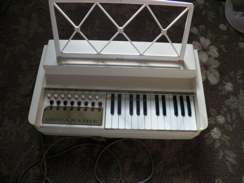 Rare Working Organaire Electric Keyboard Vintage
