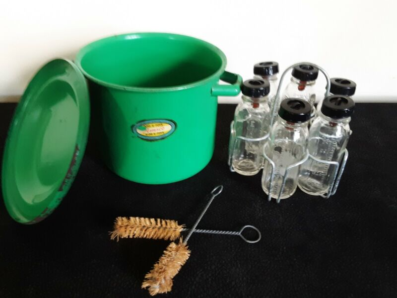 Vintage AMSCO Doll Bottle Sterilization Kit- ADORABLE!!