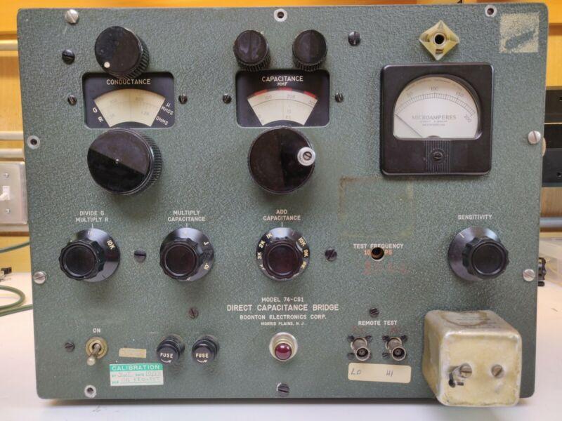 Boonton Direct Capacitance Bridge Model 74-CS1