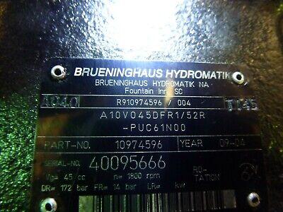 Rexroth A10vo45dfr152 Hydraulic Pump