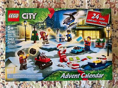 LEGO CITY 60268 Advent Calendar 2020 - sealed NIB Christmas Santa Claus