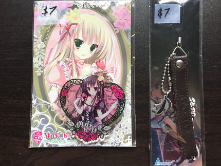 Unknown anime strap, keyring, super pretty East Maitland Maitland Area Preview