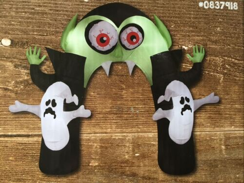 Animated Airblown Monster Archway Inflatable Haunted Halloween Ghost Dracula