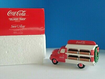 Department 56 Snow Village Coca-Cola Delivery Truck - 5479-8  'mint condition'