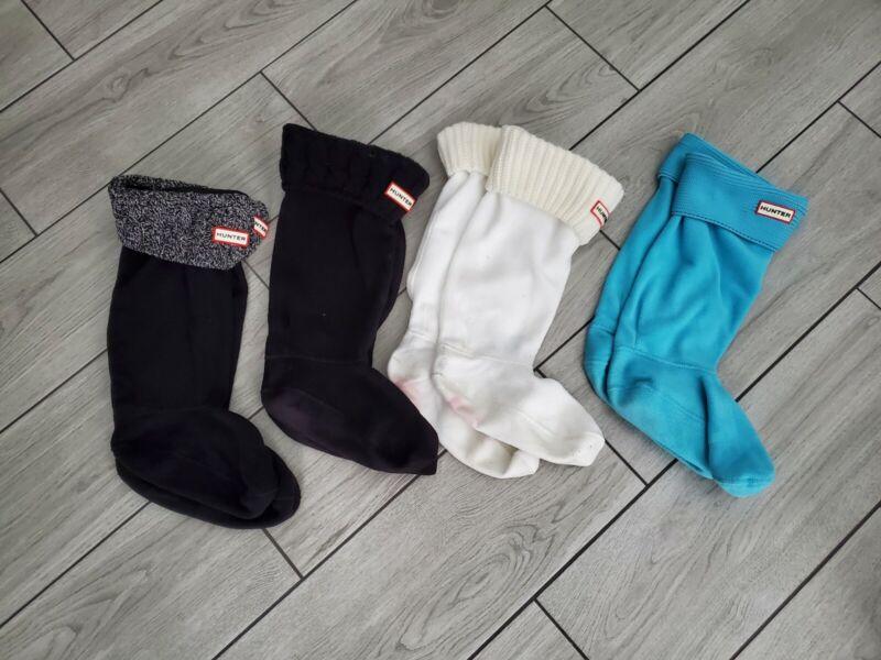 Hunter Womens Tall Fleece Boot Socks Bundle Size M/L READ DETAILS!!